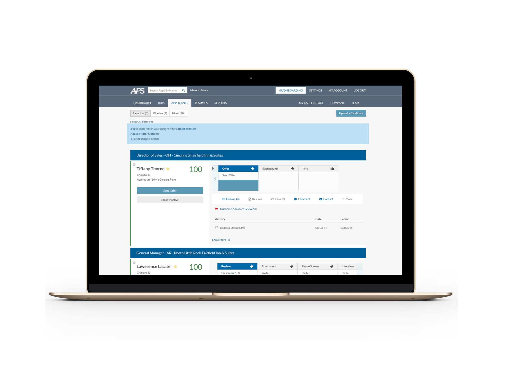 Applicant Tracking and Online HR Services