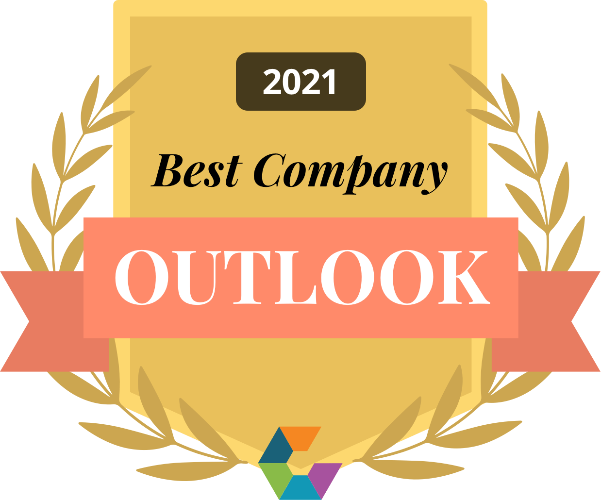 Best Company Outlook Badge